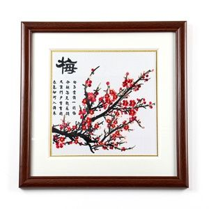 Hand Stitch Chinese Style Embroidery Frame Art